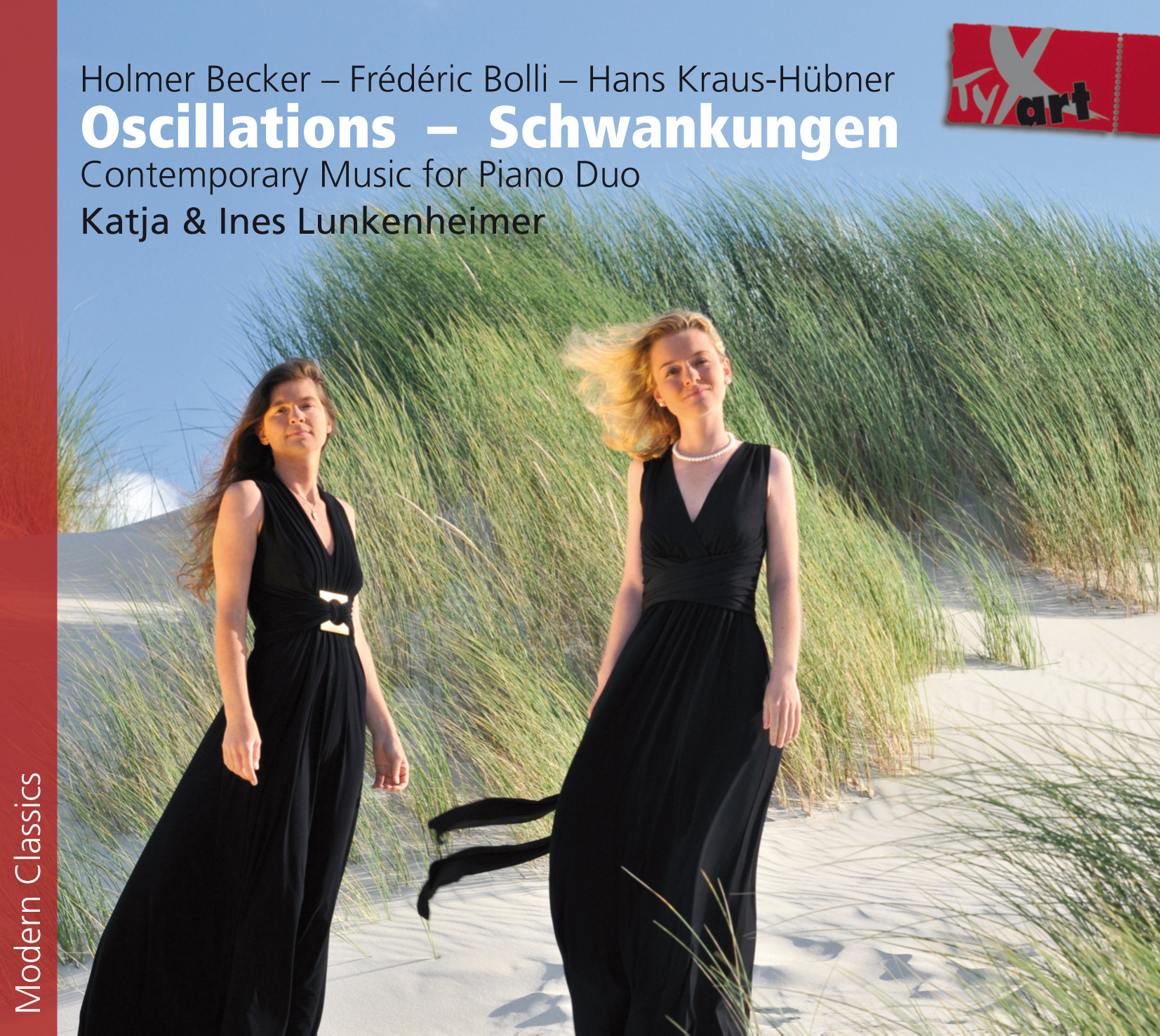 Oscillations - Schwankungen - Contemporary Music for Piano Duo - Lunkenheimer