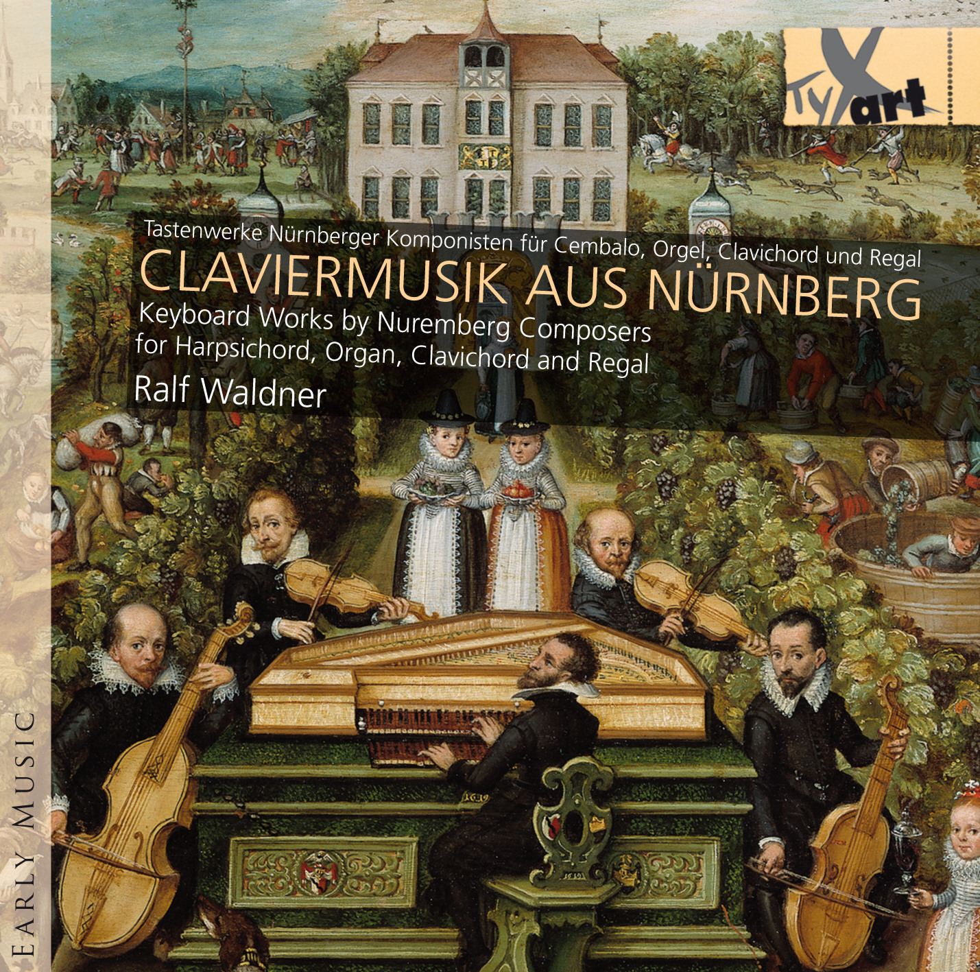 CLAVIER MUSIC FROM NUREMBERG - Ralf Waldner, Harpsichord/Organ/Clavichord/Regal