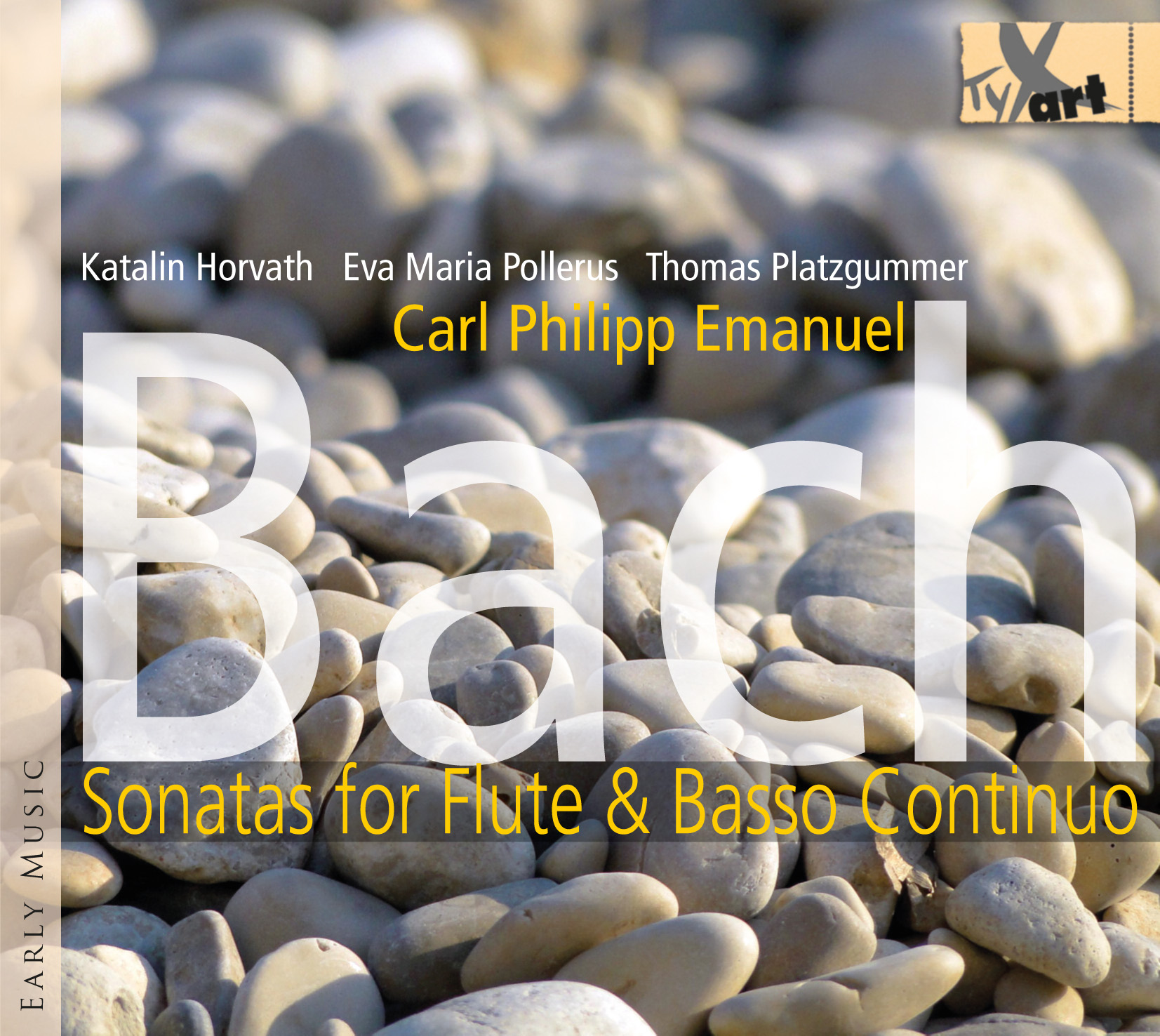 Carl Philipp Emanuel Bach - Sonatas for Flute and Basso Continuo