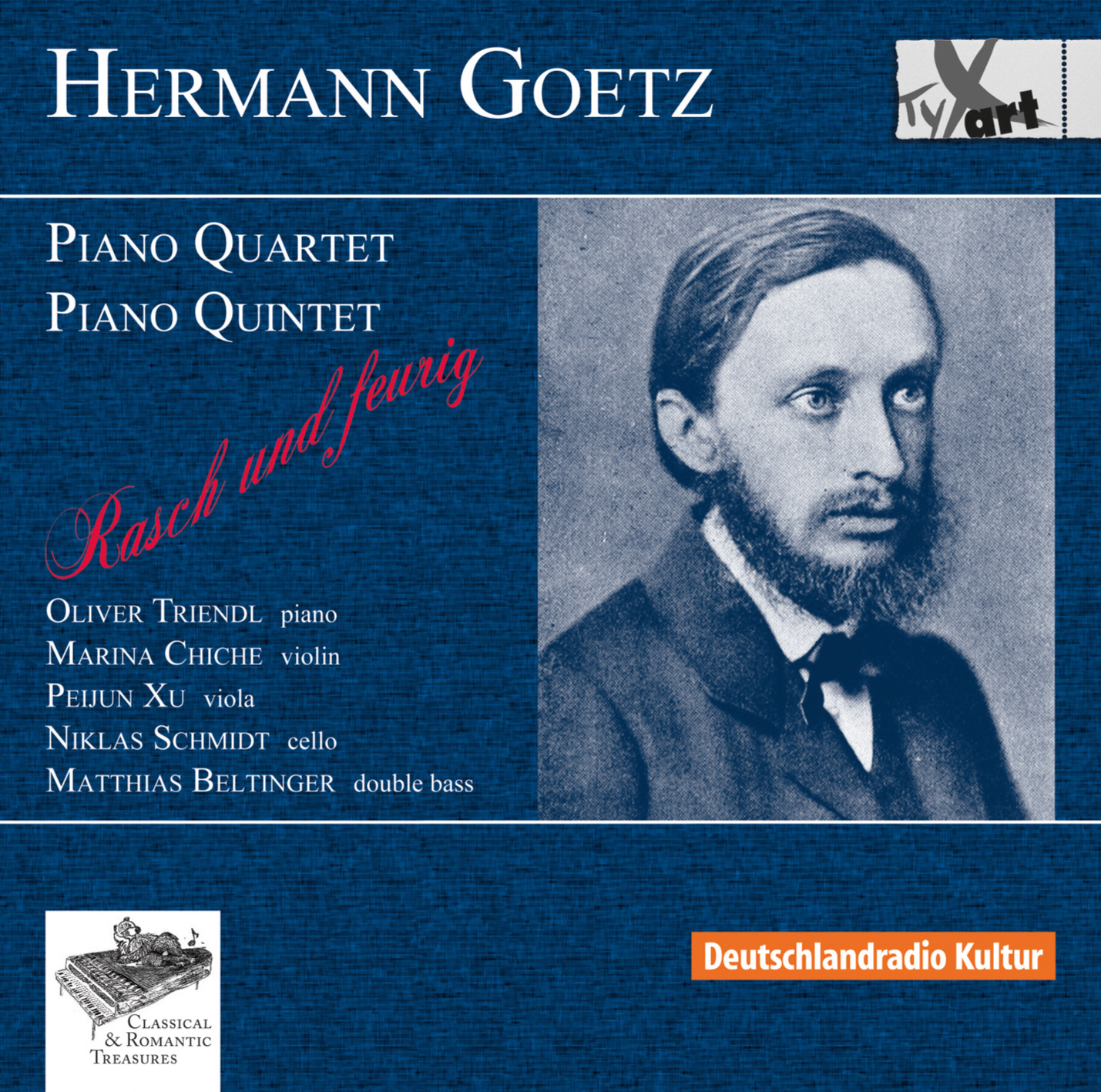 Hermann Goetz: String Quartet and String Quintet