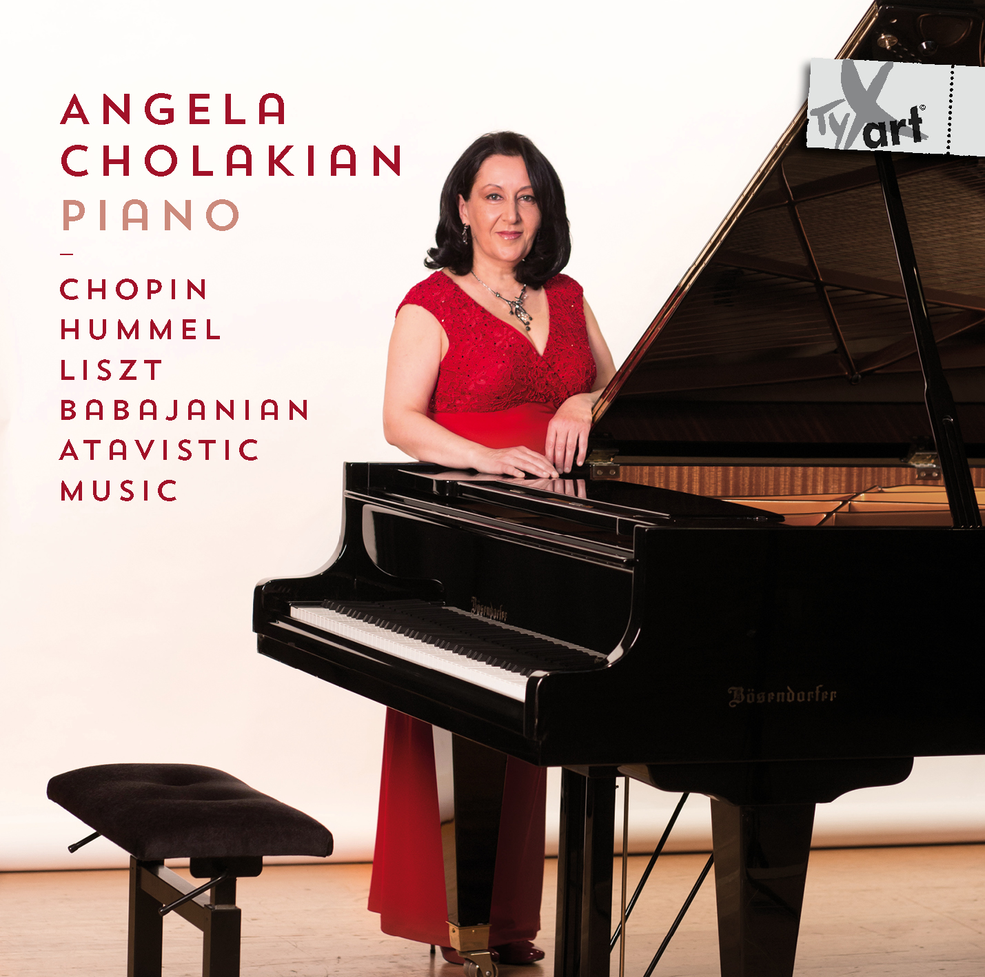 Angela Cholakian, Piano: Babajanian, Chopin, Liszt, Hummel, and Atavistic Music