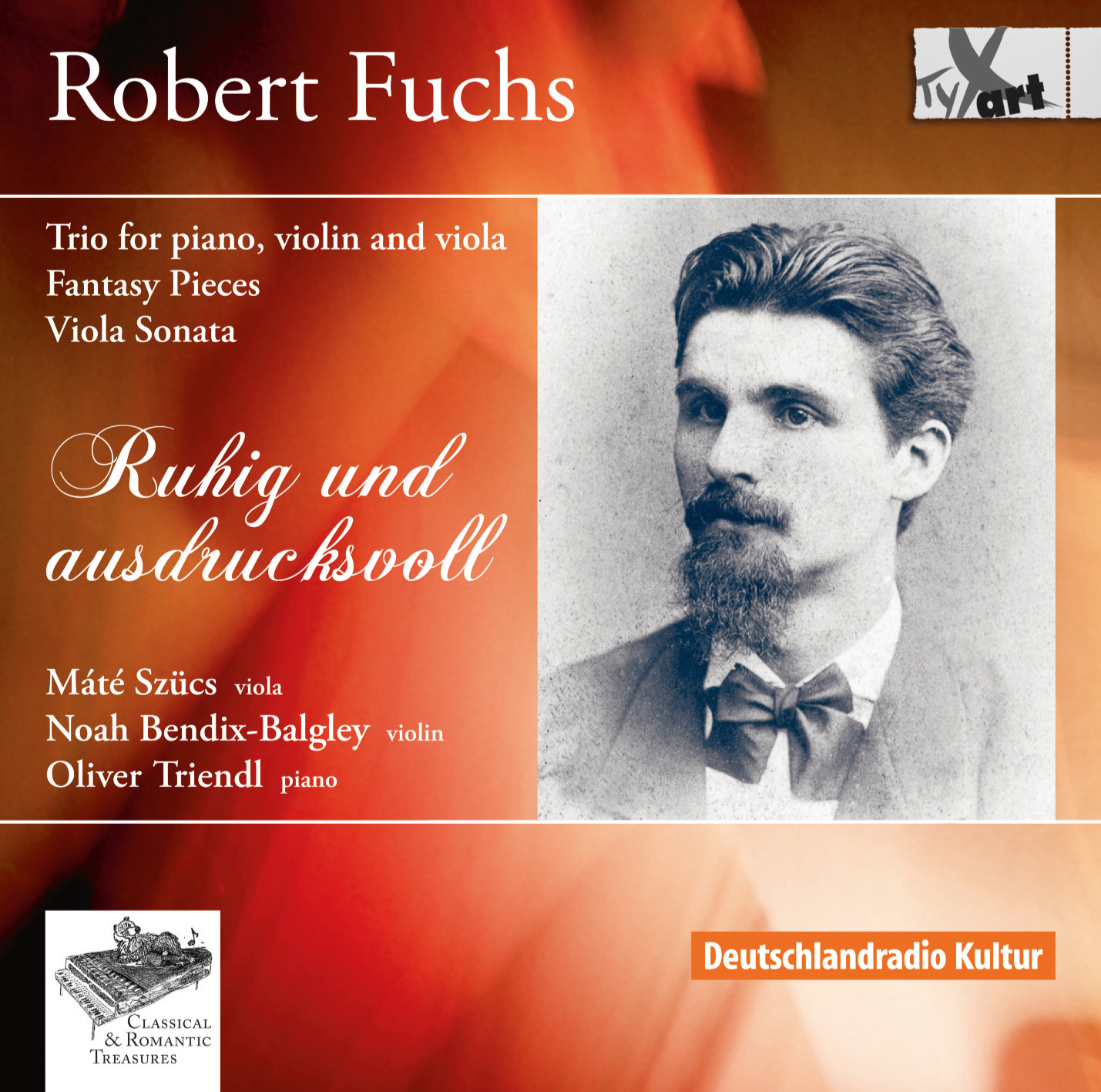Robert Fuchs: Trio and Viola Duos