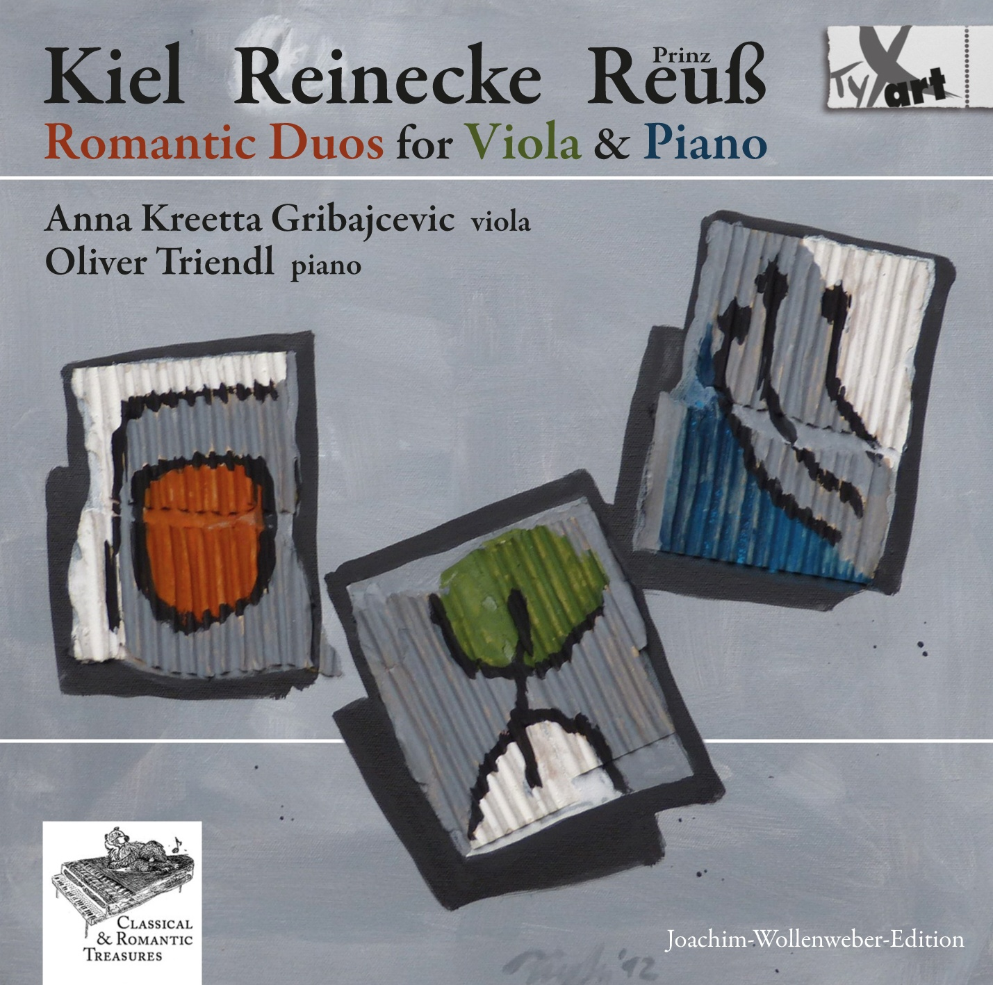Kiel - Reinecke - Prince Reuss - Romantic Duos for Viola & Piano