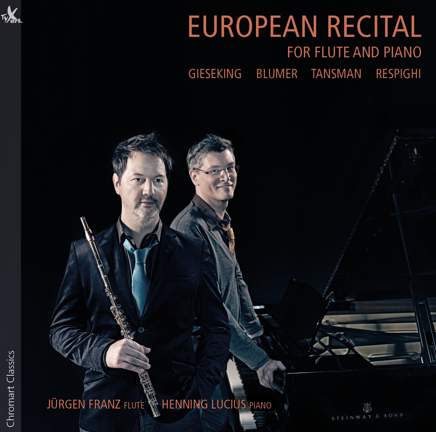 European Recital for Flute and Piano - Franz, Lucius