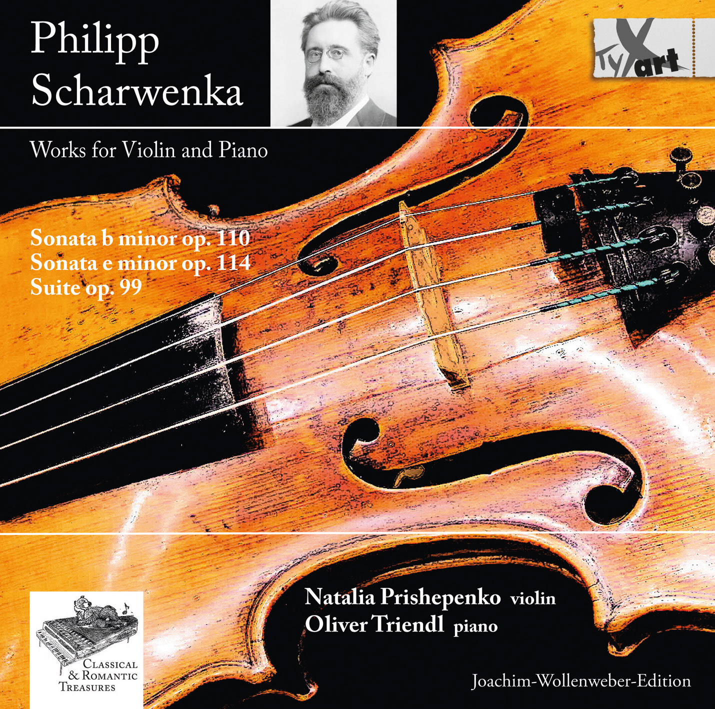 Philipp Scharwenka: Works for Violin and Piano - Prishepenko - Triendl