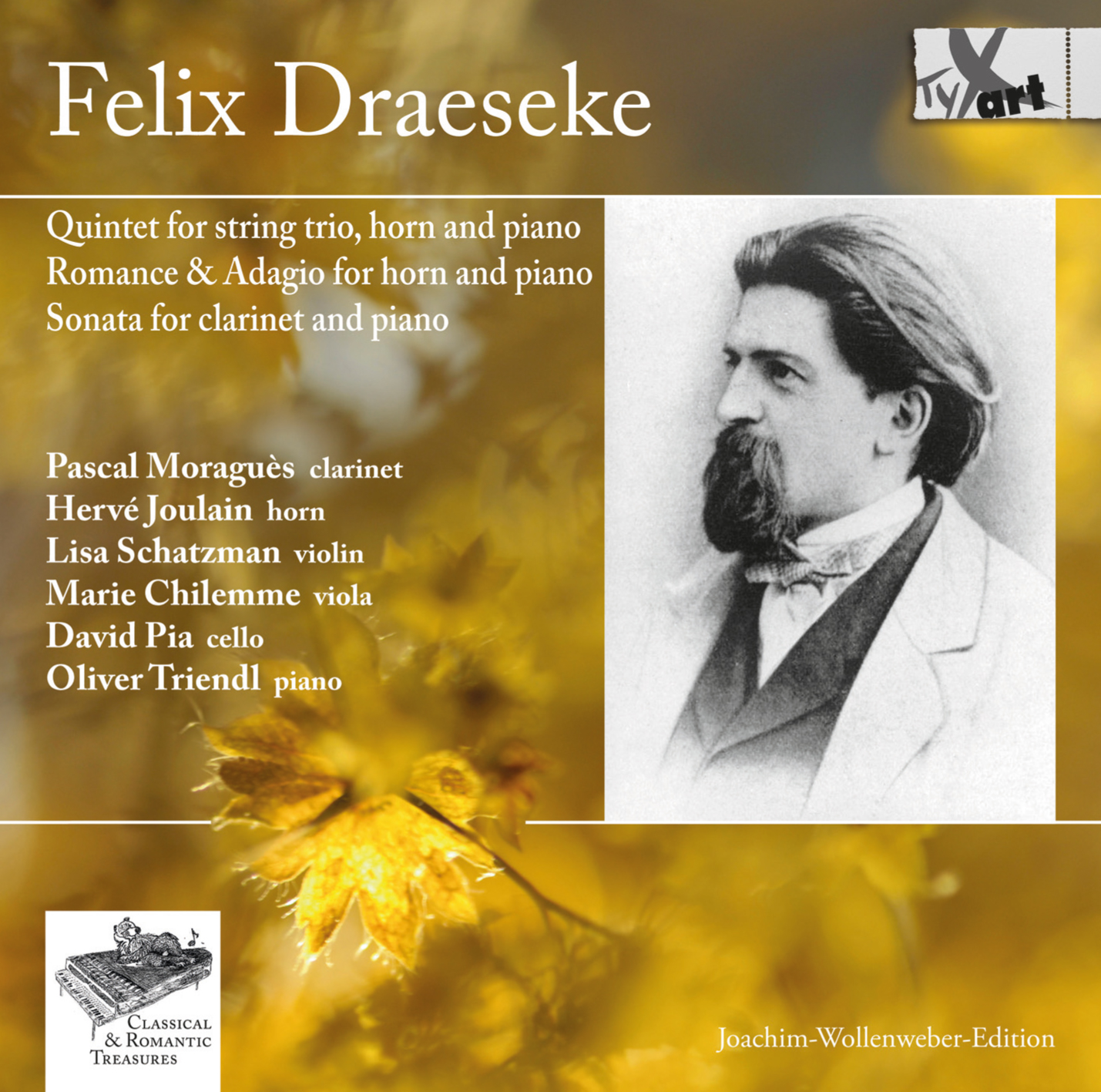 Felix Draeseke: Chamber Music Works Op.48, Op.32, Op.31 and Op.38