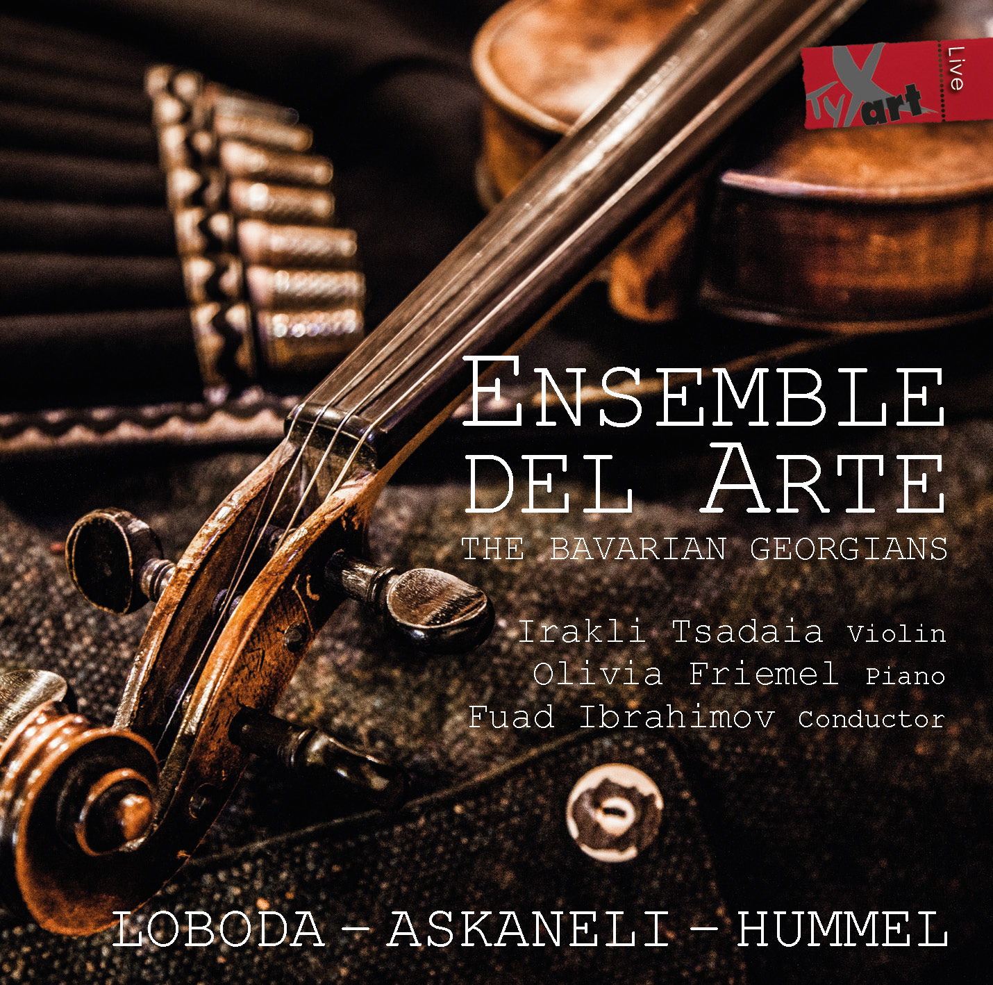 Ensemble del Arte - Contemporary Works for Chamber Orchestra