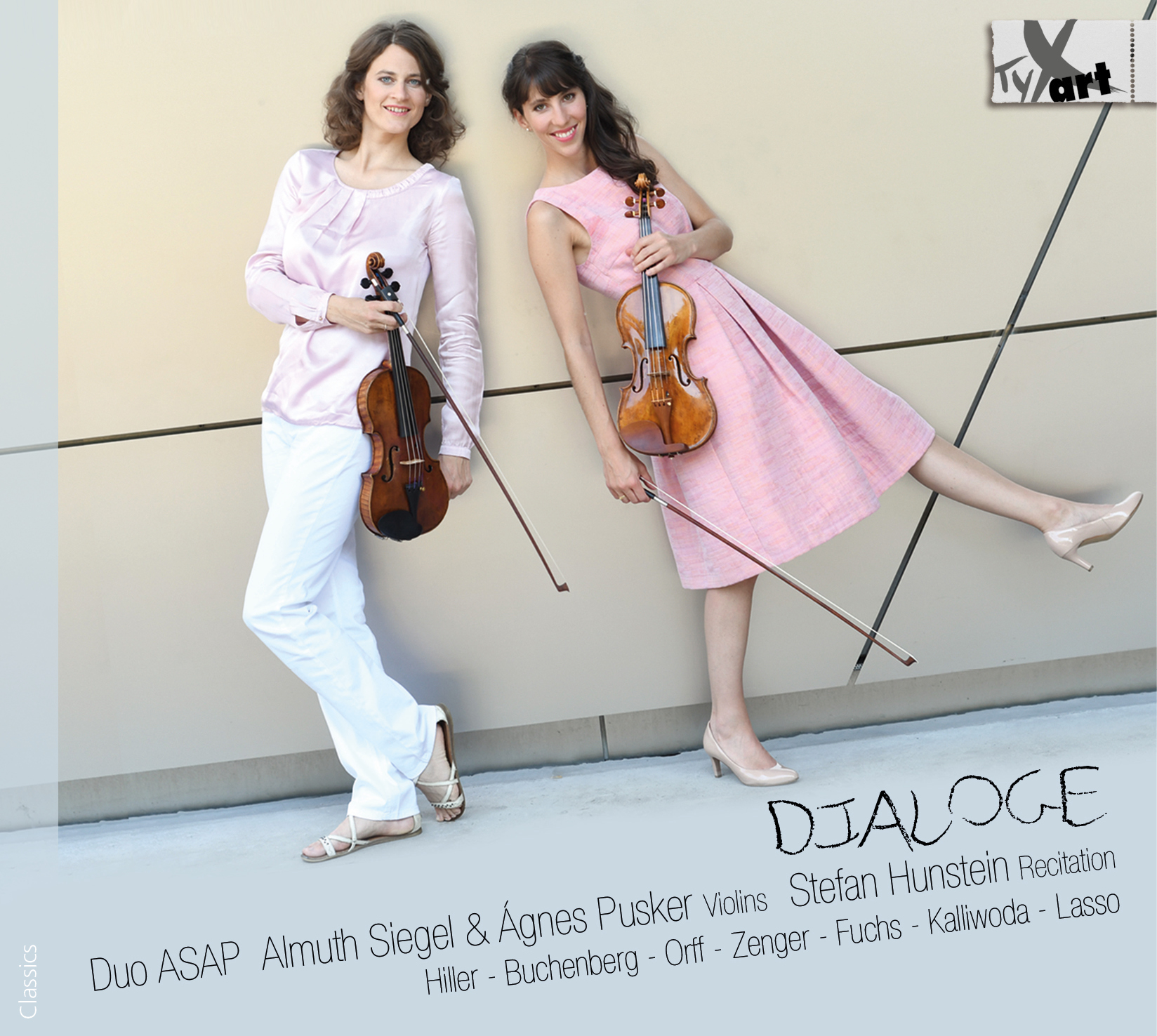 Dialogues - Duo ASAP: Almuth Siegel and Agnes Pusker