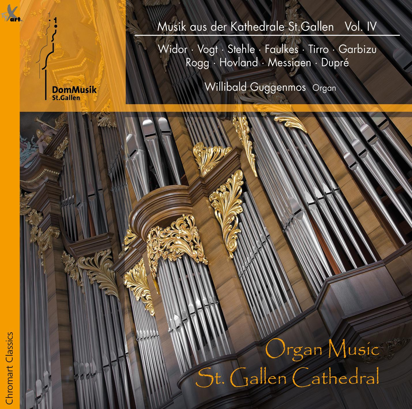 Organ Music - St. Gallen Cathedral - Willibald Guggenmos