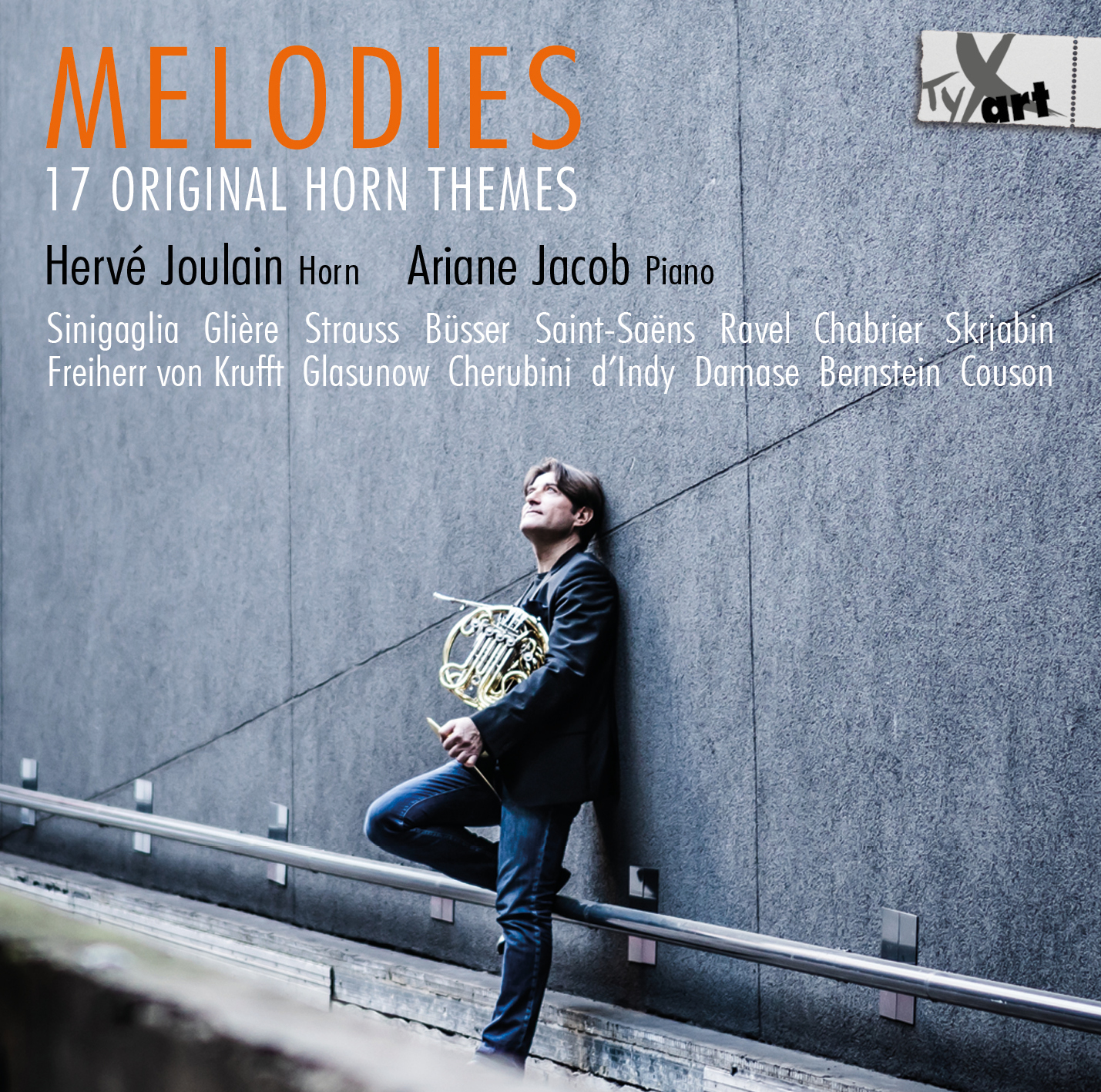 MELODIES - 17 Original Horn Themes - Joulain & Jacob